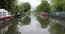barges on a canal