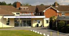 Queen Elizabeth Foundation Independent Living Services building Leatherhead