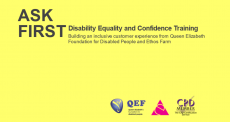 ASK FIRST - disability equality and confidence training