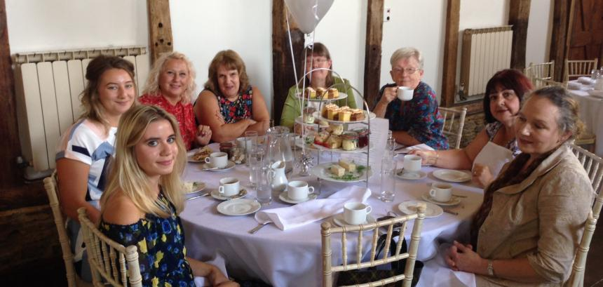 QEF volunteers thanked with a day out at Loseley Park