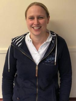 Image of Emma, lead physiotherapist at NRS